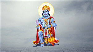 Wallpaper of Lord Bajrangbali