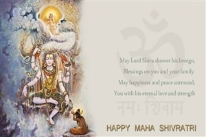 Wish You Happy Maha Shivratri