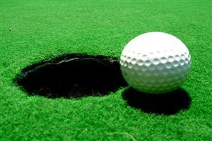 Golf Near with Ball Amazing Pics