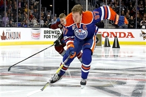 Ice Hockey Player Connor McDavid Wallpaper