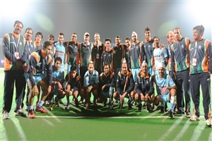 Indian Field Hockey Team HD Photo