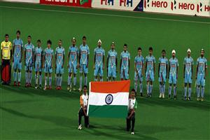 Indian Team During National Anthom Amazing Pics