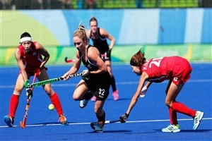 Olympics Women Hockey Match Photo