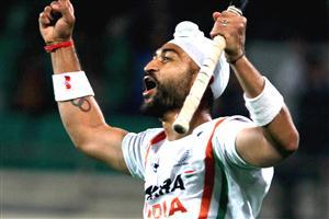 Sandeep Singh Indian Hockey Player Wallpapers