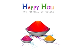 Beautiful Happy Holi HD Wallpaper Background