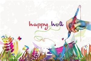 Creative Happy Holi Pics