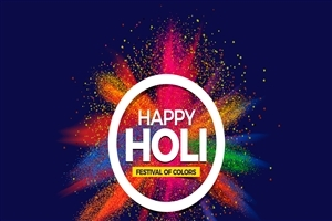 HD Wallpaper of Happy Holi