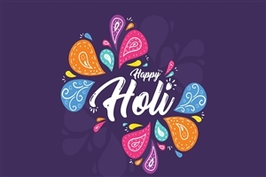 Happy Holi Festival HD Wallpaper