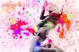 Happy Holi HD Colorful Wallpapers