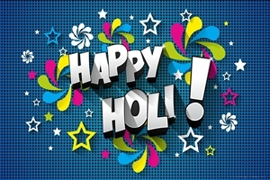 Happy Holi Vector Design Wallpaper