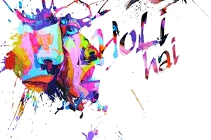 Holi Hai Indian Color Festival Wallpapers