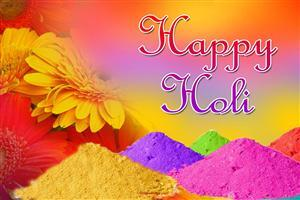 Indian Festival Happy Holi Image