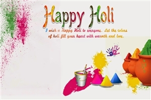 Wish You Happy Holi Greeting Quote