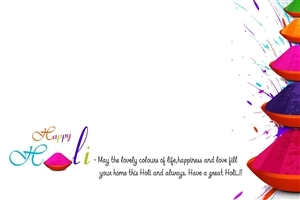 Wish You Happy Holi Quote