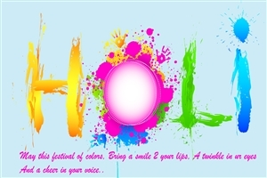 Wish You Happy Holi and Cheer