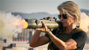 2019 Terminator Dark Fate Actress Linda Hamilton 4K Photo