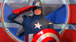 4K Pic of Captain America