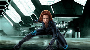 4K Pic of Superhero Black Widow