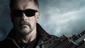 4K Wallpaper of Terminator Dark Fate Actor Arnold Schwarzenegger