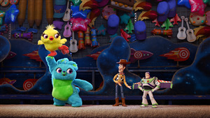 5K Photo of Hollywood 2019 Movie Toy Story 4