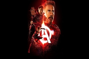 Avengers Infinity War Iron Man Film 4K Wallpaper