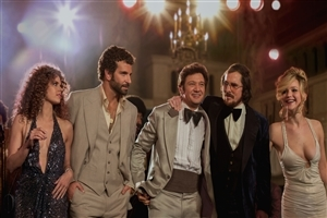 Bradley Cooper Christian Bale and Jeremy Renner in American Hustle Hollywood Movie Photos