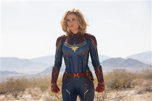 Captain Marvel Brie Larson Movie Photo