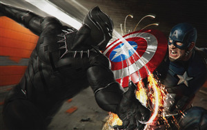 Black Panther Wallpaper Hd 1080p Artistic Joyful