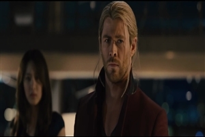 Chris Hemsworth as Thor in New Hollywood Movie The Avengers HD Wallpaper