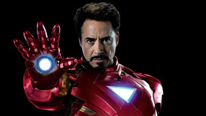Iron Man as Robert Downey 4K Image