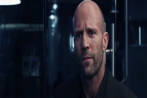 Jason Statham in The Fate of the Furious Movie Wallpaper