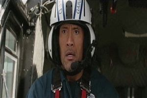 Latest English Hollywood Movie San Andreas Actor Dwayne Johnson Wallpaper