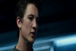 New English Movie Actor Miles Teller in Fantastic Four 2015 Film Wallpaper