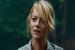 Popular American Actress Emma Stone in Hollywood Film Aloha Wallpapers