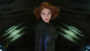 Scarlett Johansson as Black Widow Superhero 4K Wallpaper