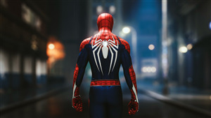 Spider Man Fictional Superhero in Movie 4K Photo