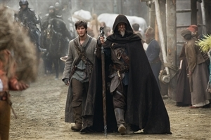 The Seventh Son 2014 Movie Star Cast Ben Barnes and Jeff Bridges Wallpaper