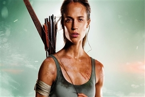 Tomb Raider Film 2018 HD Wallpaper