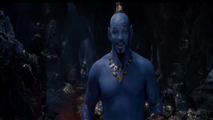 Will Smith as Genie in 2019 Film Aladdin