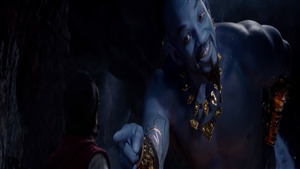 Will Smith as Genie in 2019 Movie Aladdin