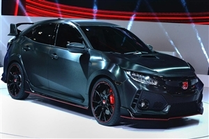 2018 Honda Civic Type R Black Car