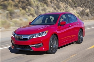 New Honda 2017 Accord Car HD Photo