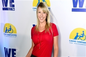 Beautiful Actress Jodie Sweetin in Red Wallpapers