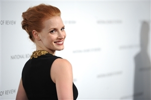 Cute Smile of Jessica Chastain HD Image