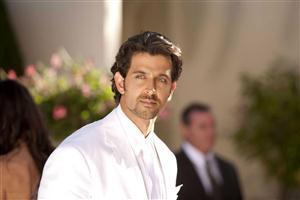Handsome Hrithik Roshan in White Suite