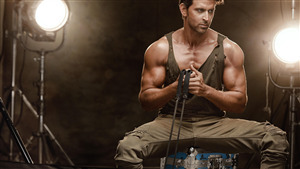 Hrithik Roshan Gym Workout Body Photo
