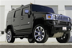Amazing Beautiful Black Hummer H5 Car HD Wallpaper