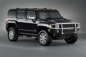 Black Hummer H3x HD Car Wallpaper