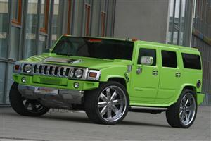 Green Hummer H2 HD Car Wallpapers