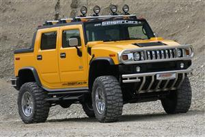 H2 Yellow Hummer Car Wallpaper